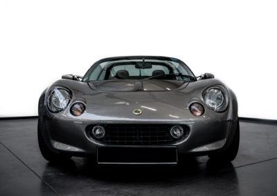 Lotus Elise 111S grau metallic Frontansicht