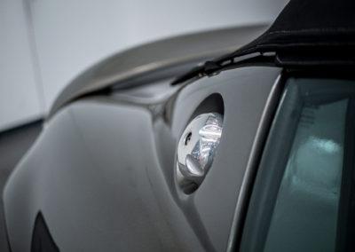 Lotus Elise 111S grau metallic Detail Tankdeckel