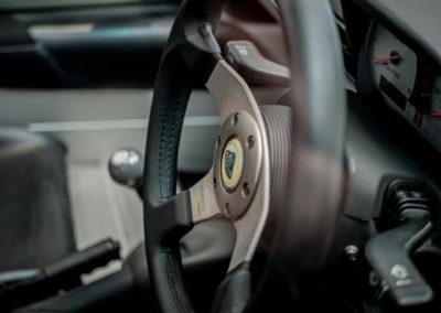 Lotus Elise 111S grau metallic Detail Lenkrad