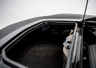 Opel Speedster schwarz Kofferraum