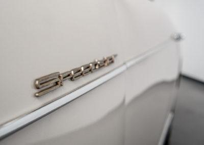 Volkswagen Beck Speedster Detail Schriftzug Speedster