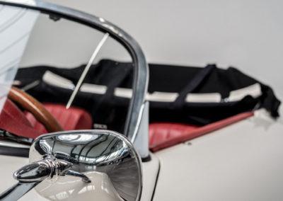 Volkswagen Beck Speedster Detail Seitenspiegel