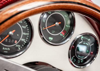 Volkswagen Beck Speedster Detail Tacho