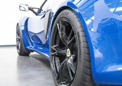 Lotus Exige Sport 350 Detail Hinterrad