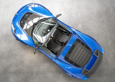 Lotus Exige Sport 350 blau Cabrio